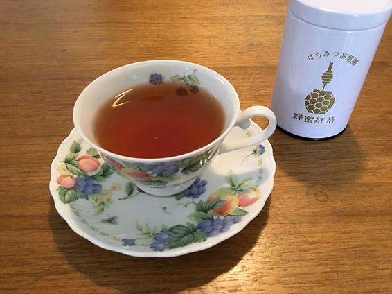 蜂蜜紅茶試飲
