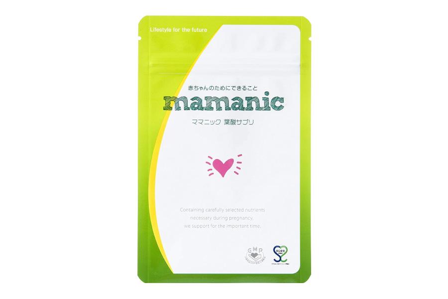 ママニック「葉酸サプリ」商品画像